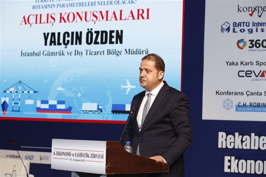 6. Ekonomi ve Lojistik Zirvesi 25-26 Ağustos 2021 Tarihlerinde İstanbul'da Gerçekleştirildi